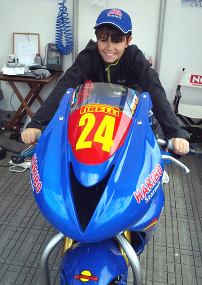 Haribo BSB motorcycle for facebook